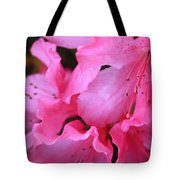 Pink Azalea Drama Tote Bag