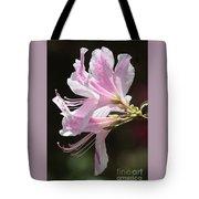 Pink Azalea Macro Tote Bag