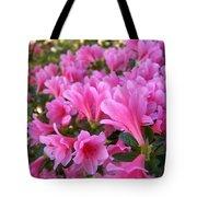 Pink Azaleas II Tote Bag