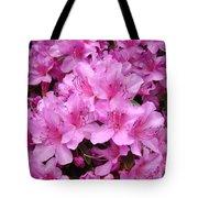 Pink Azaleas Summer Garden 6 Azalea Flowers Giclee Art Prints Baslee Troutman Tote Bag