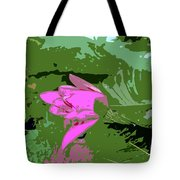 Pink Beauty Work Number 8 Tote Bag