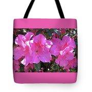 Pink Bevy Of Beauties Tote Bag