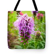 Purple Blazing Star 01 Tote Bag