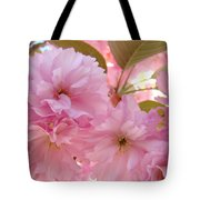 Pink Blossoms Art Prints Spring Tree Blossoms Baslee Troutman Tote Bag