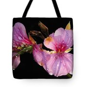 Pink Blush Cranesbill Tote Bag