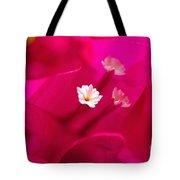 Pink Bougainvillaea Tote Bag