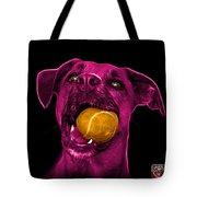 Pink Boxer Mix Dog Art - 8173 - Wb Tote Bag