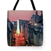 Pink Buenos Aires  Tote Bag