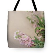 Pink Bunches Tote Bag