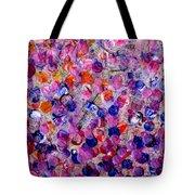 Pink California Splatter Map Tote Bag