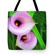 Pink Calla Lily Tote Bag