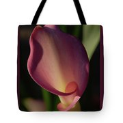 Pink Calla Lily - Vertical Tote Bag