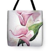 Pink Callas  Tote Bag
