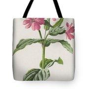Pink Campion Tote Bag