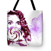 Pink Candy Tote Bag