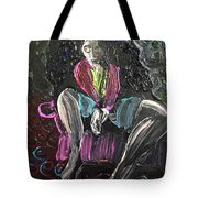 Pink Chair Tote Bag