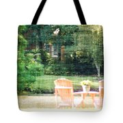 Pink Chairs Tote Bag