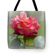Pink Chiffon Ruffles Tote Bag