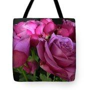 Pink Chiffon Tote Bag