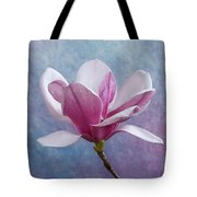 Pink Chinese Magnolia Flower Tote Bag