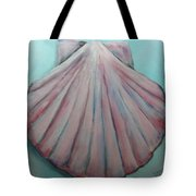 Pink Clam Shell Tote Bag