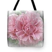 Pink Climbing Roses Tote Bag