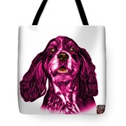 Pink Cocker Spaniel Pop Art - 8249 - Wb Tote Bag