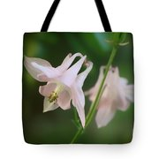Pink Columbine Tote Bag