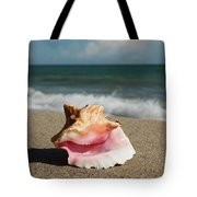 Pink Conch  Tote Bag