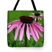 Pink Cone Flowers Tote Bag