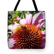 Pink Coneflower Tote Bag