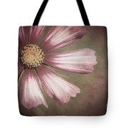 Pink Cosmos Painting Tote Bag
