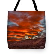 Pink Cotton Candy Sunrise Tote Bag