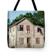 Pink Curtains Tote Bag