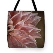 Pink Dahlia In Bloom Tote Bag