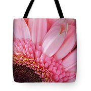 Pink Daisy Close-up Tote Bag