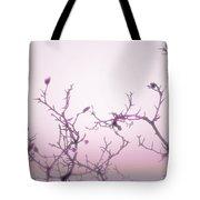 Pink Dawn Tote Bag by Ann Powell
