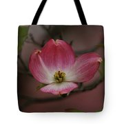 Pink Dogwood Blossom Tote Bag