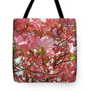 Pink Dogwood Flowering Tree Art Prints Canvas Baslee Troutman Tote Bag