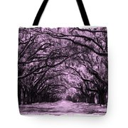 Pink Dream World With White Framing Tote Bag