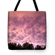 Pink Dusk Tote Bag
