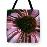 Pink Echinacea Tote Bag