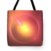 Pink Eclipse Tote Bag