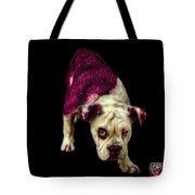 Pink English Bulldog Dog Art - 1368 - Bb Tote Bag