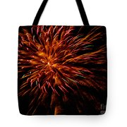 Pink Fire Tote Bag