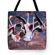 Pink Flight Tote Bag
