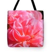 Pink Flower Tote Bag