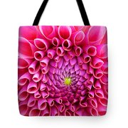 Pink Flower Close Up Tote Bag