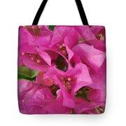 Pink Flower Composition Tote Bag