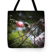 Pink Flower Hummie Tote Bag